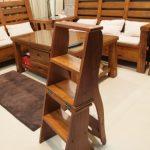 两用实木楼梯椅美化我们的家
