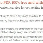 Convert-my-image is the best way to convert JPG to PDF quickly and accurately