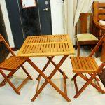 舞雩归咏春风香,Green绿致路易莎FSC实木一桌二椅让人生更美好